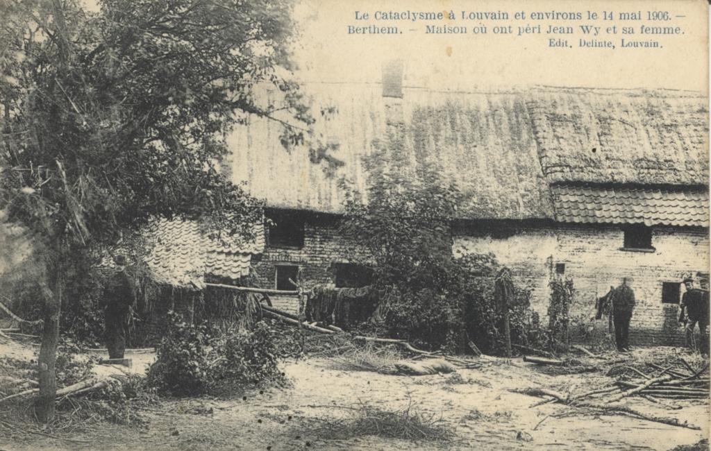 Le Cataclysme à Louvain le 14 mai 1906 - Berthem